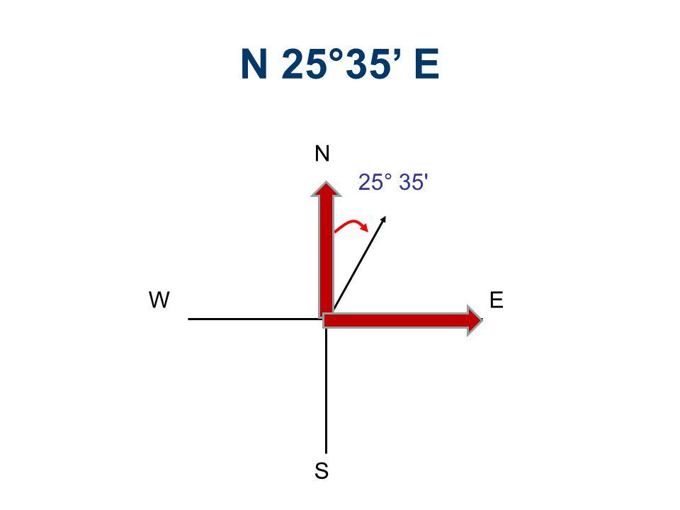 N 25°35' E N S E W 25° 35 Legal Descriptions