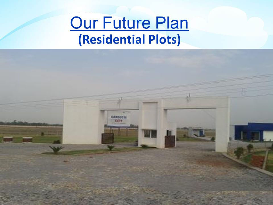 Our Future Plan (Residential Plots) Both Side Plantation