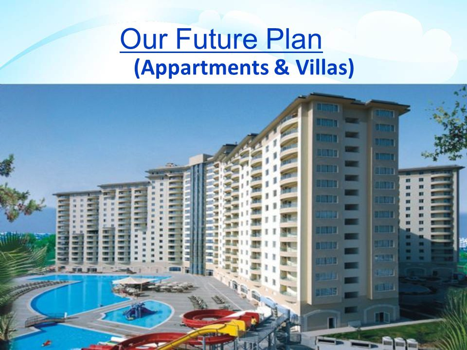 Our Future Plan (Appartments & Villas) Both Side Plantation