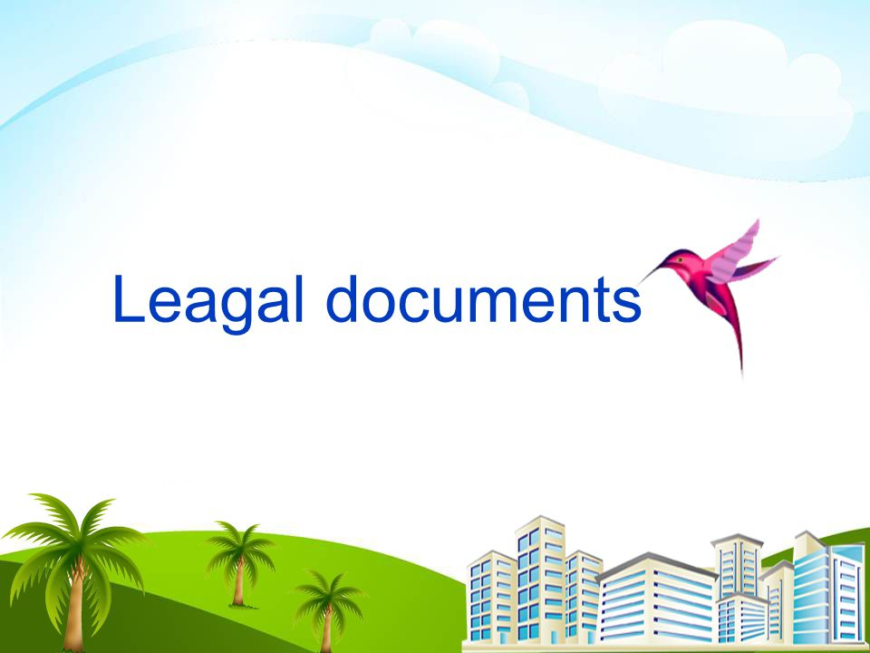 Leagal documents Profile