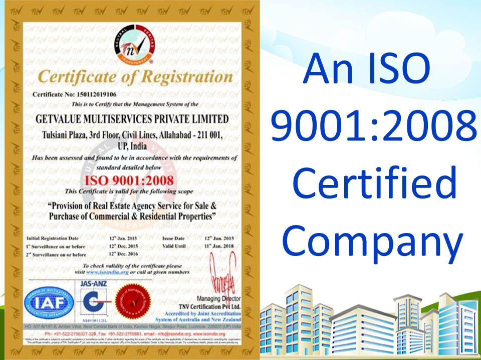 An ISO 9001:2008 Certified Company 1956 Company Act