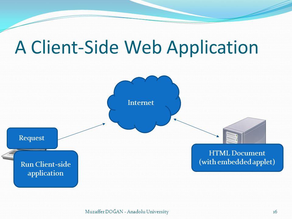A Client-Side Web Application