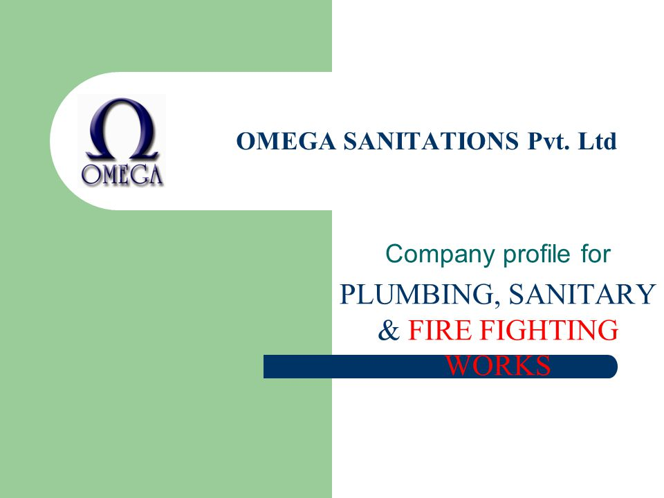 OMEGA SANITATIONS Pvt. Ltd