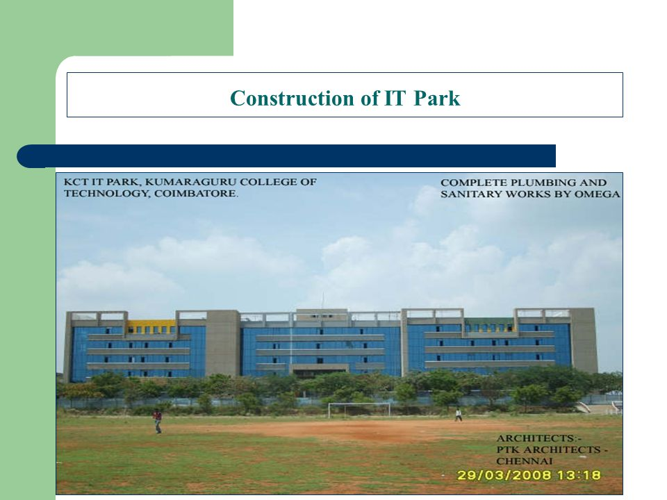 Construction of IT Park