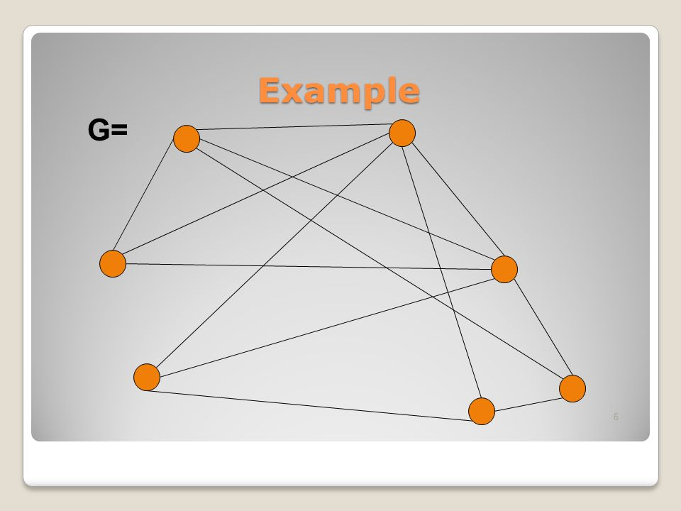 Example G=