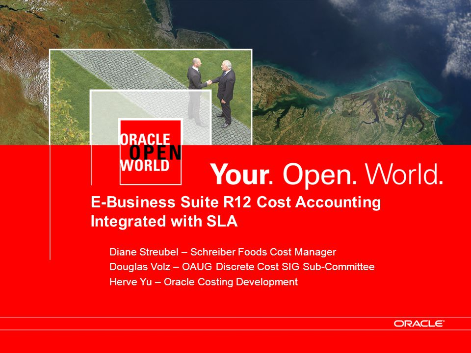 E-Business Suite R12 Cost Accounting Integrated with SLA