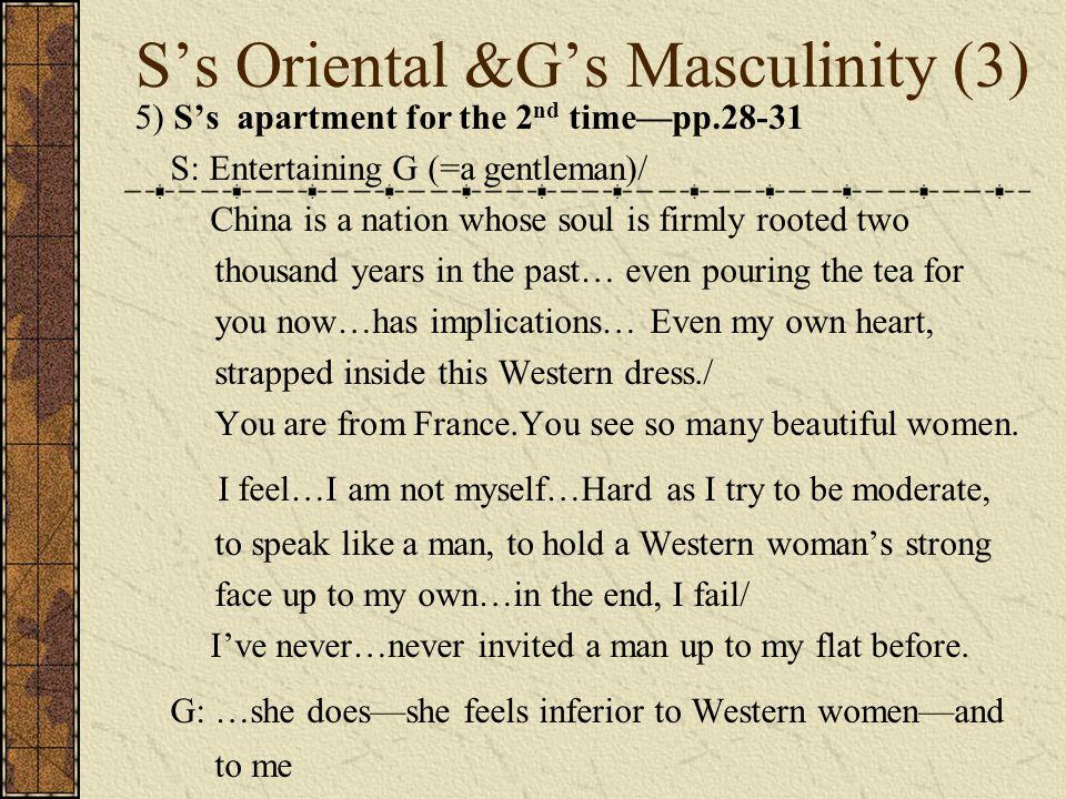 S's Oriental &G's Masculinity (3)
