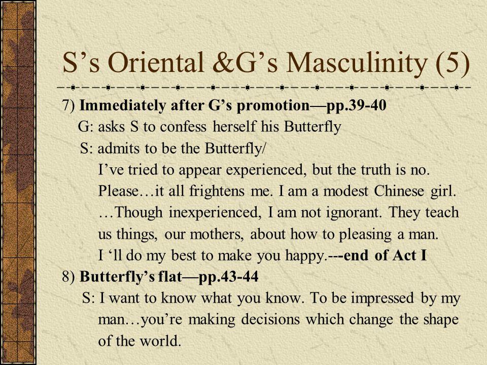S's Oriental &G's Masculinity (5)