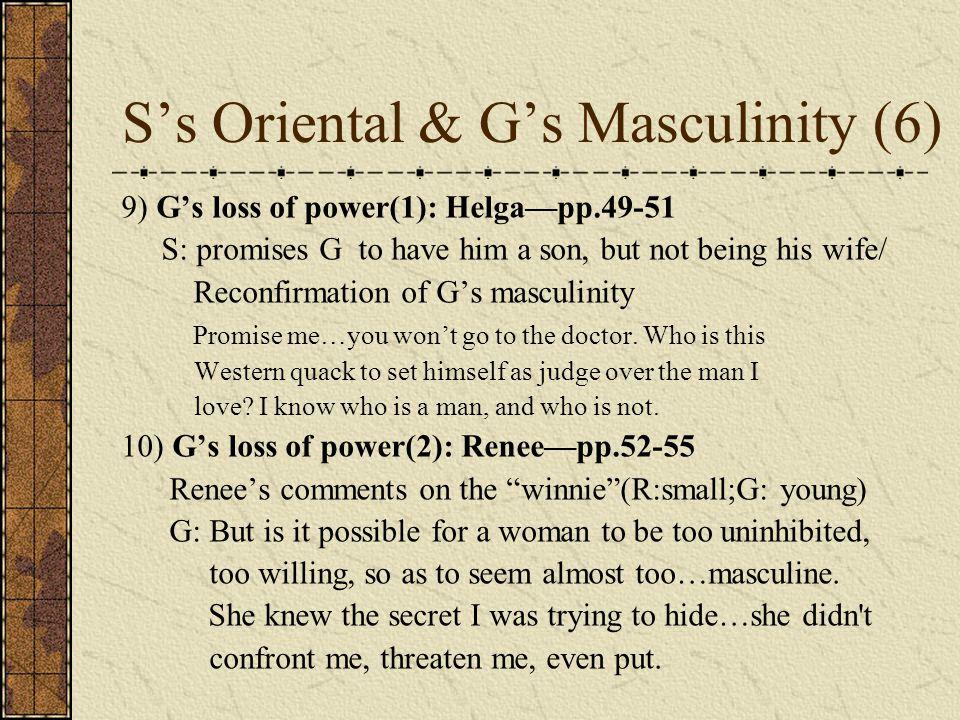 S's Oriental & G's Masculinity (6)