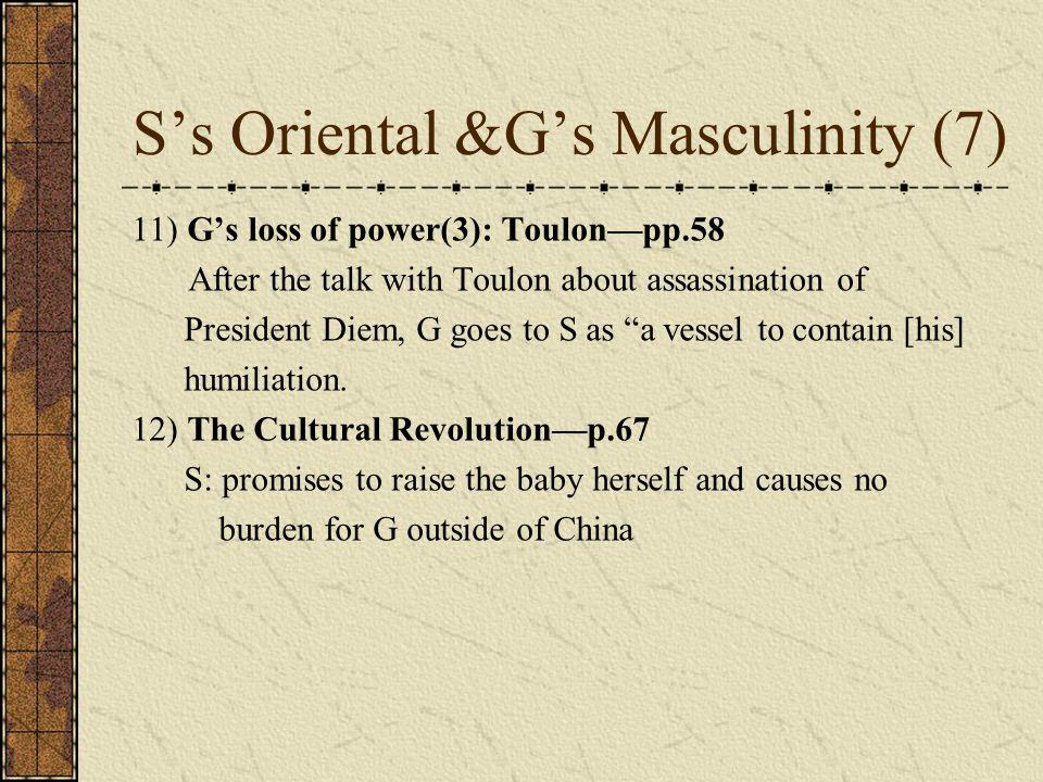 S's Oriental &G's Masculinity (7)