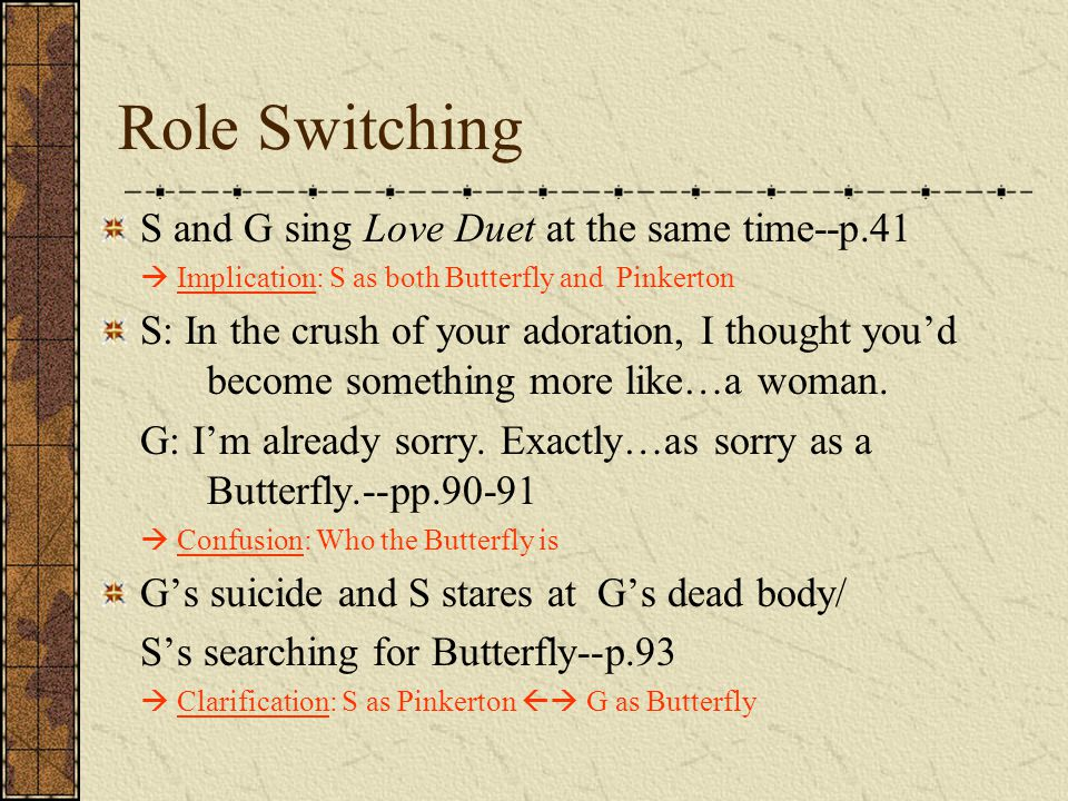 Role Switching S and G sing Love Duet at the same time--p.41
