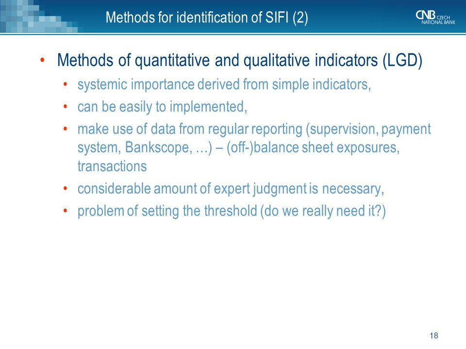 Methods for identification of SIFI (2)