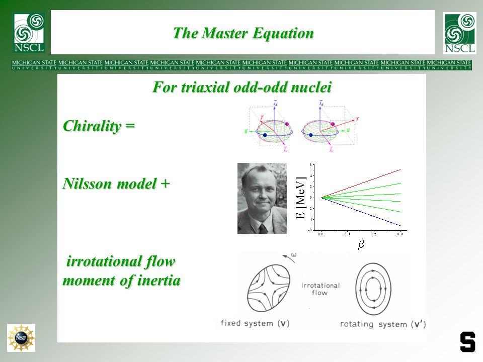 For triaxial odd-odd nuclei