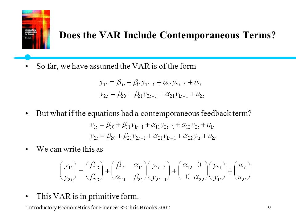Does the VAR Include Contemporaneous Terms