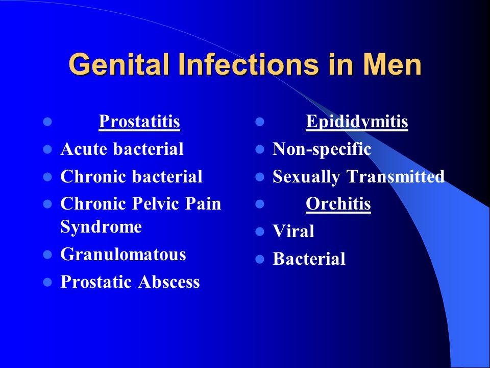 Genital Infections in Men