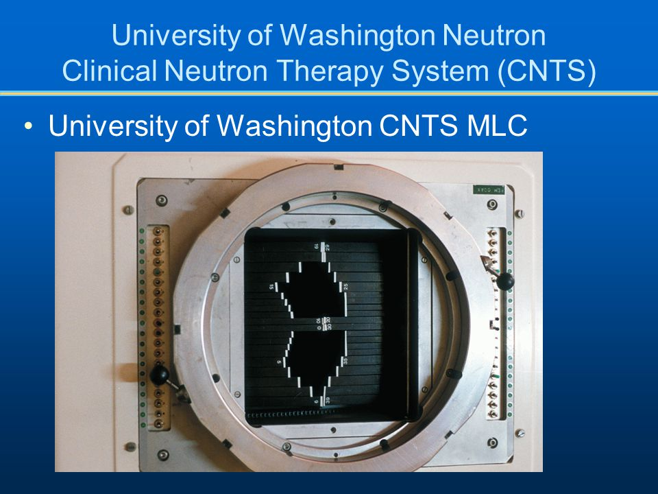 University of Washington CNTS MLC