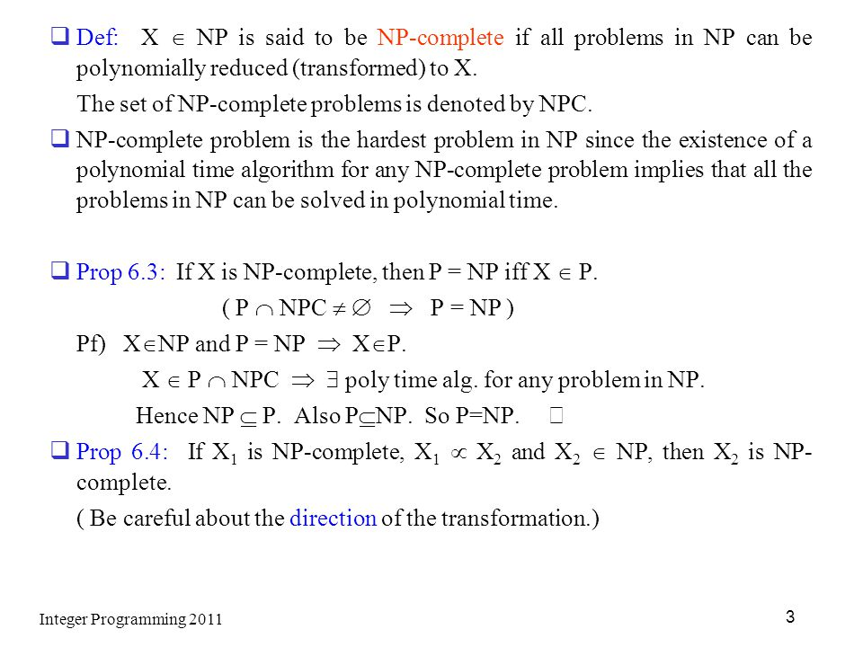 The set of NP-complete problems is denoted by NPC.