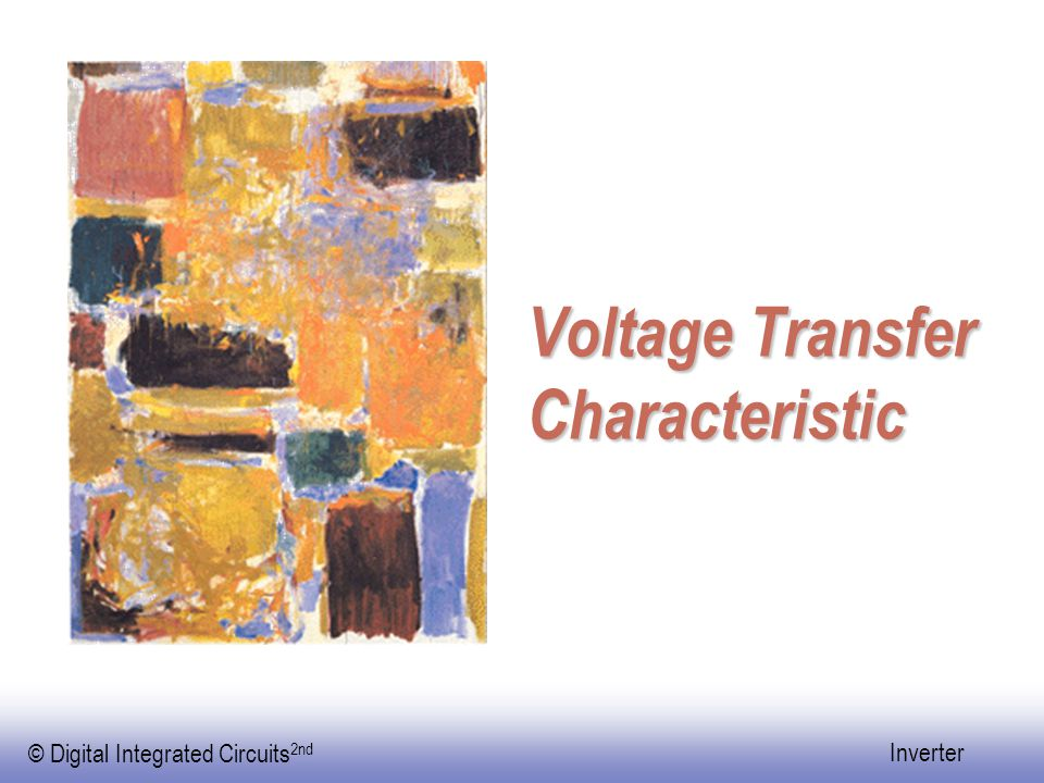Voltage Transfer Characteristic