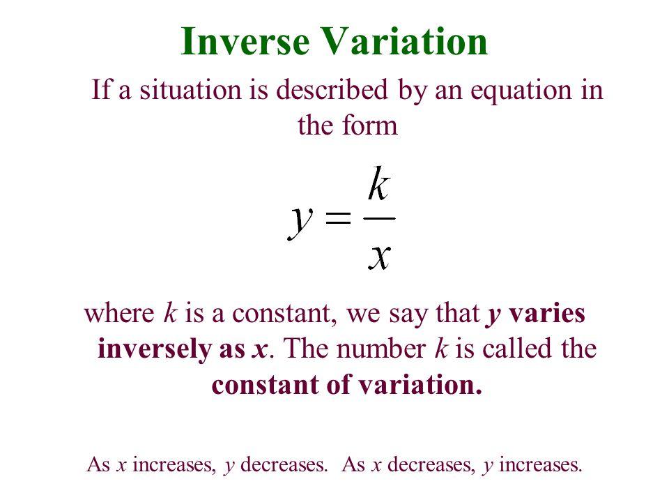 Modeling Using Variation - ppt download