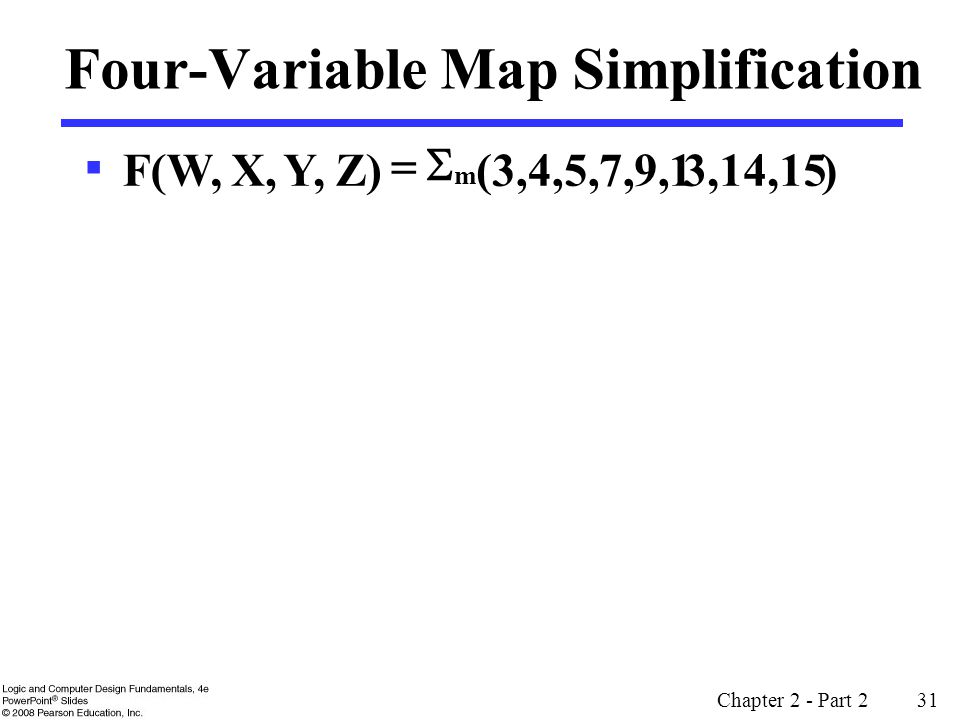 Four-Variable Map Simplification