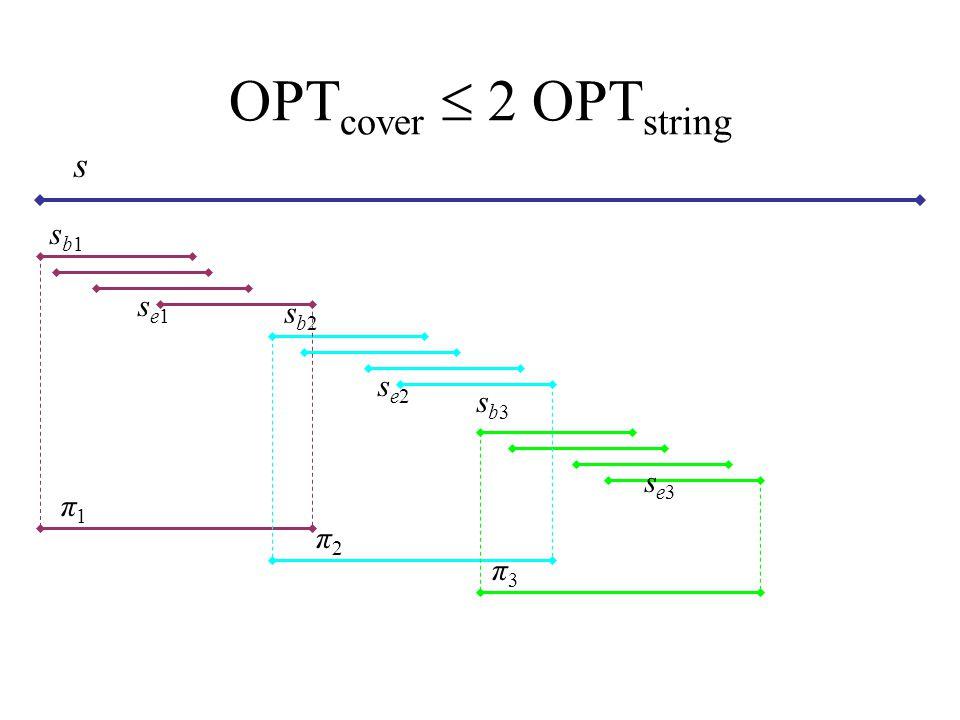 OPTcover  2 OPTstring s sb1 se1 sb2 se2 sb3 se3 π1 π2 π3