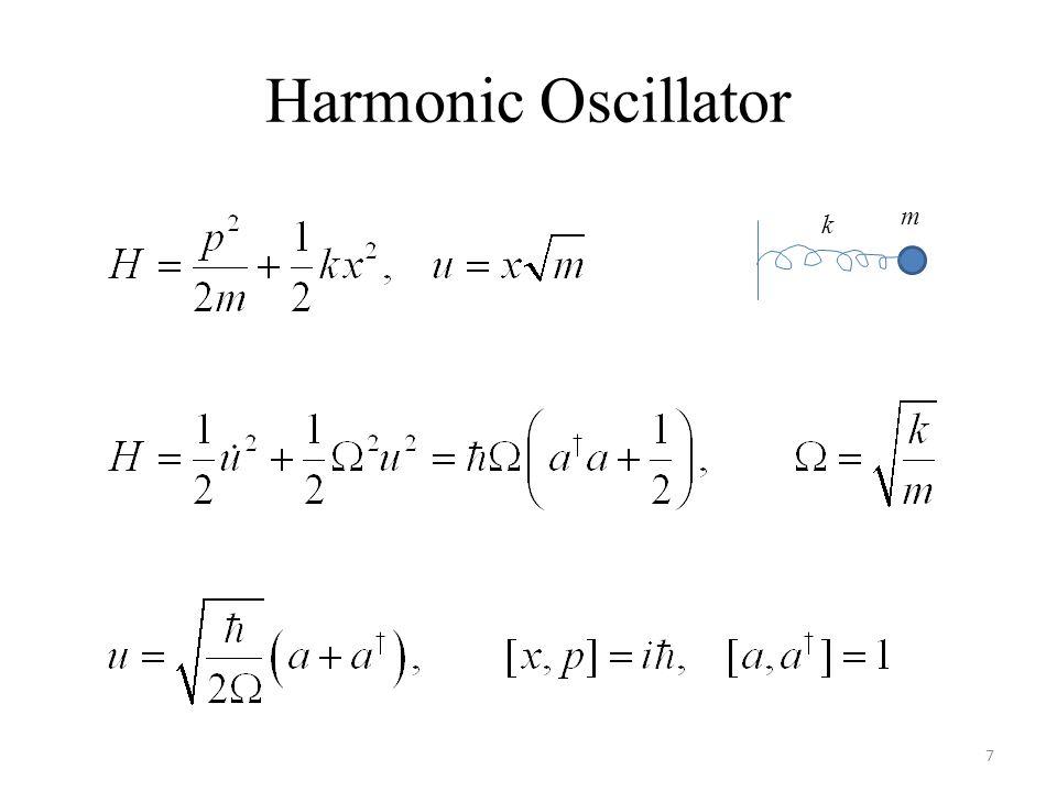 Harmonic Oscillator m k
