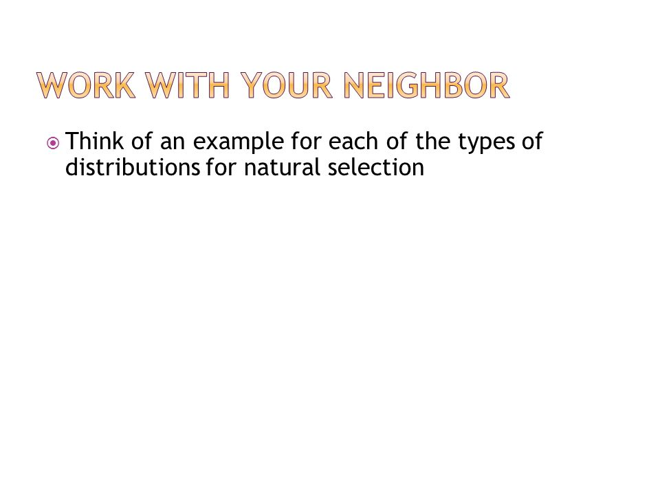 Work with your neighbor