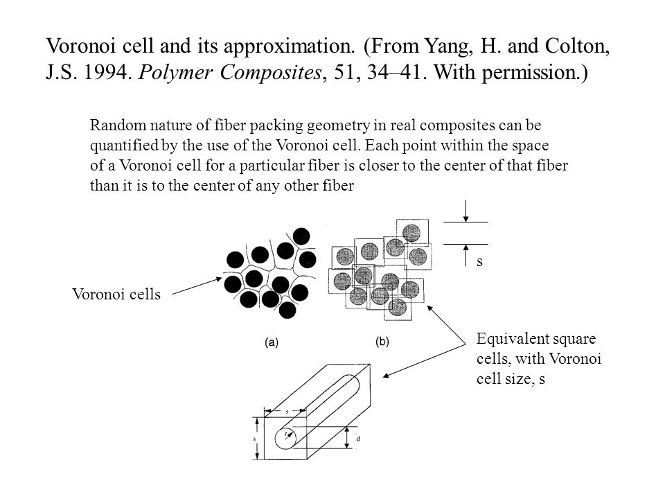 Voronoi cell and its approximation. (From Yang, H. and Colton,
