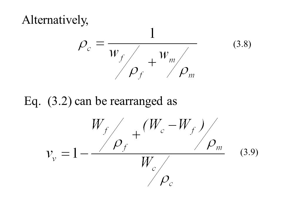 Eq. (3.2) can be rearranged as