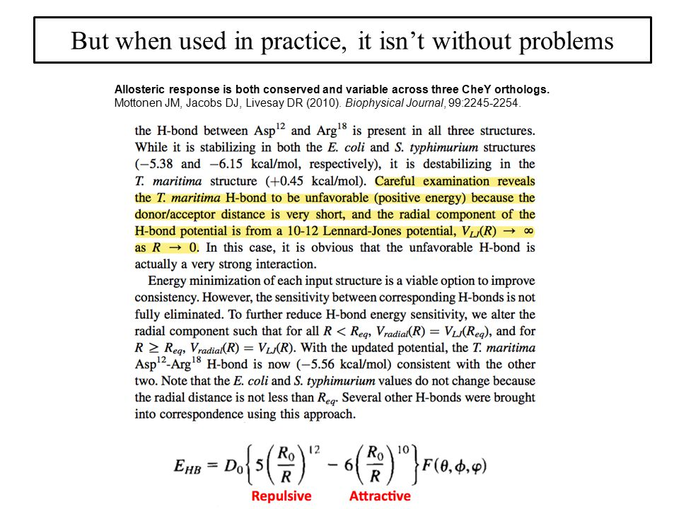 But when used in practice, it isn't without problems