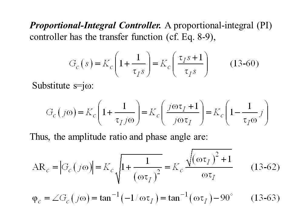 Proportional-Integral Controller