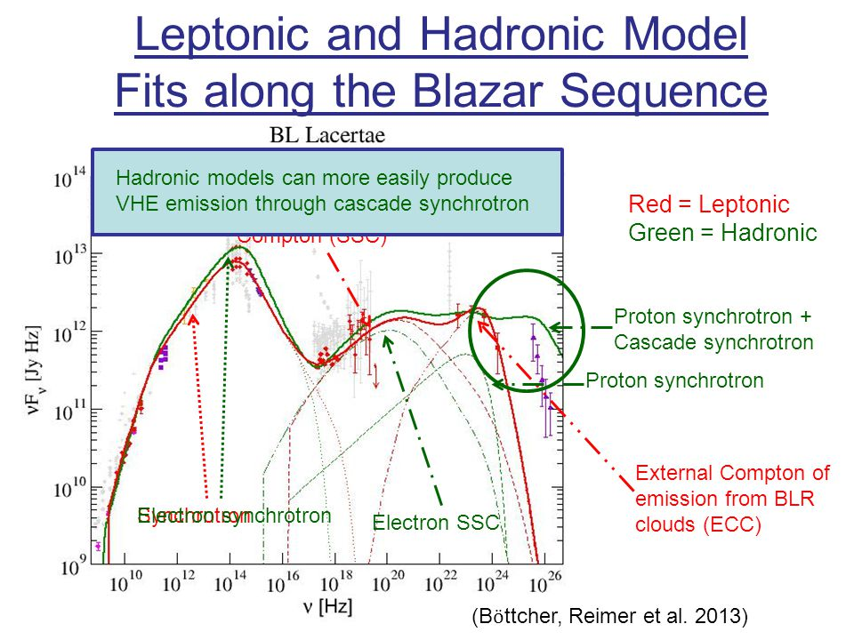 Leptonic and Hadronic Model Fits along the Blazar Sequence