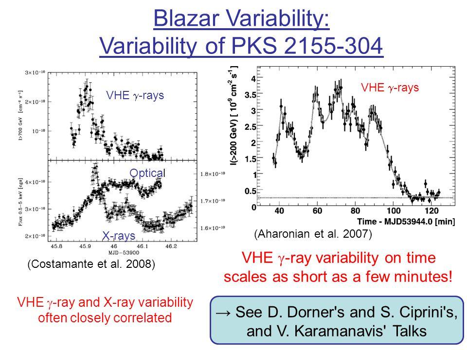 Blazar Variability: Variability of PKS 2155-304
