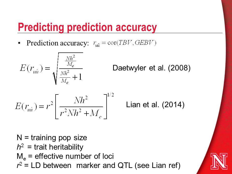 Predicting prediction accuracy