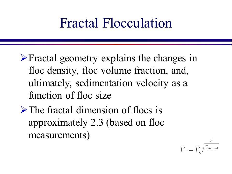 Fractal Flocculation