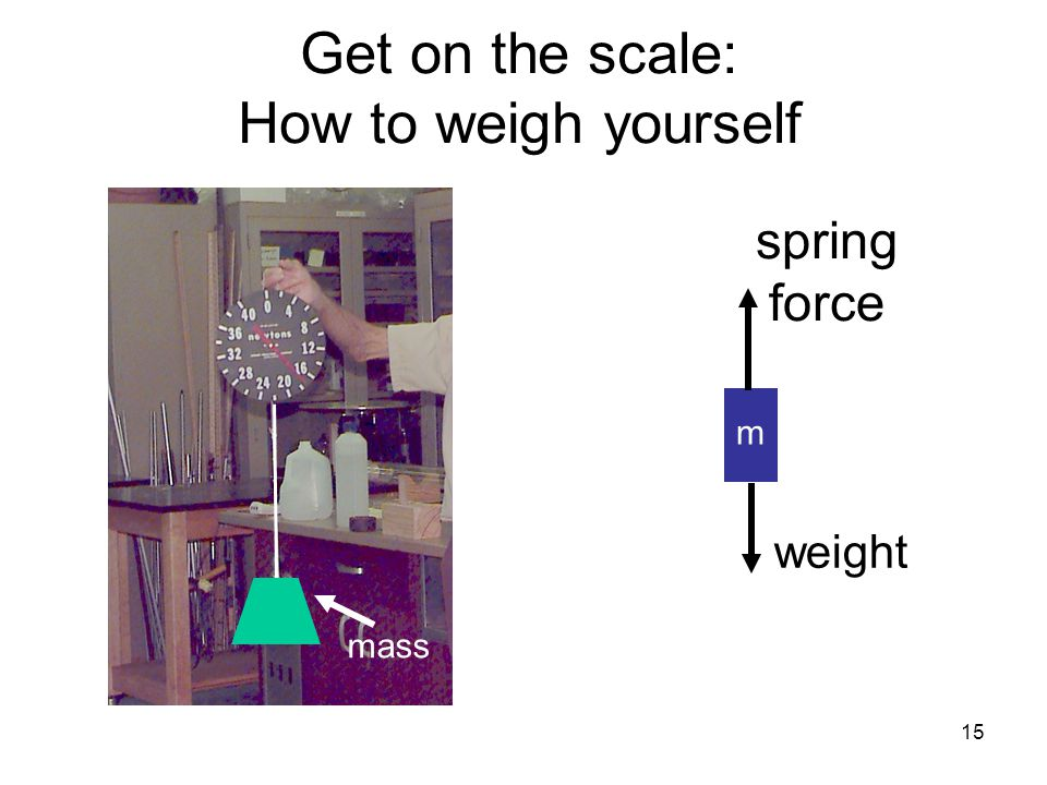 Get on the scale: How to weigh yourself