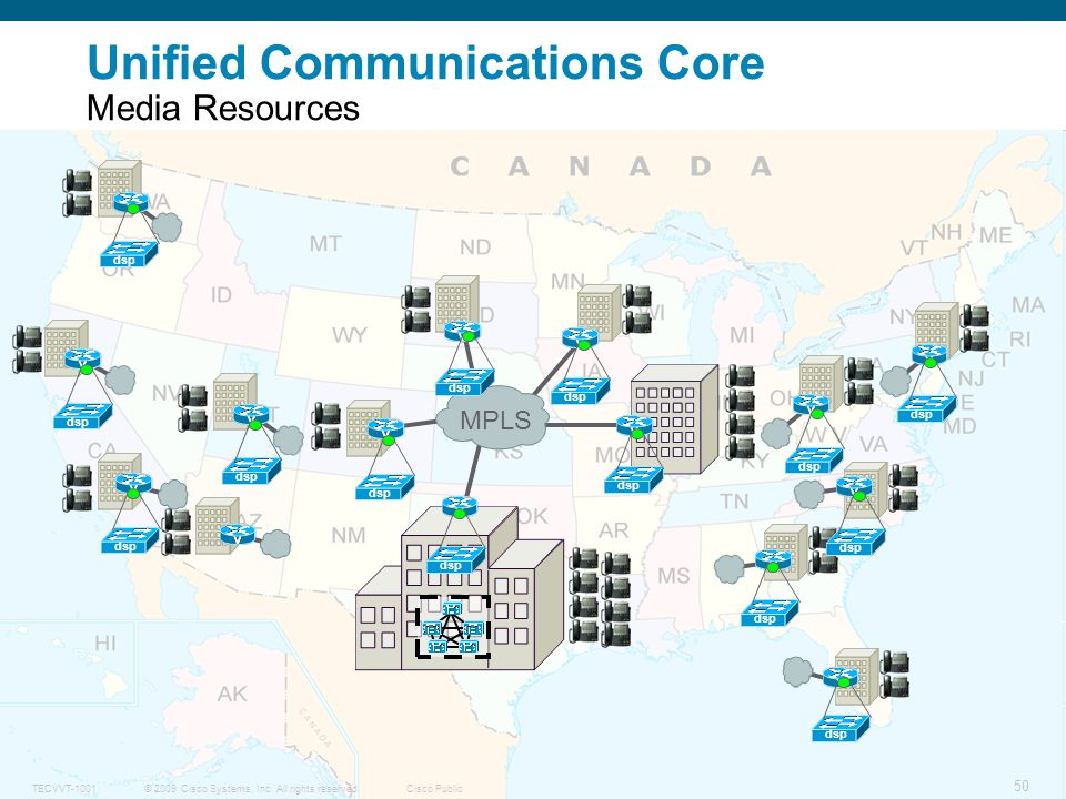 Unified Communications Core Media Resources