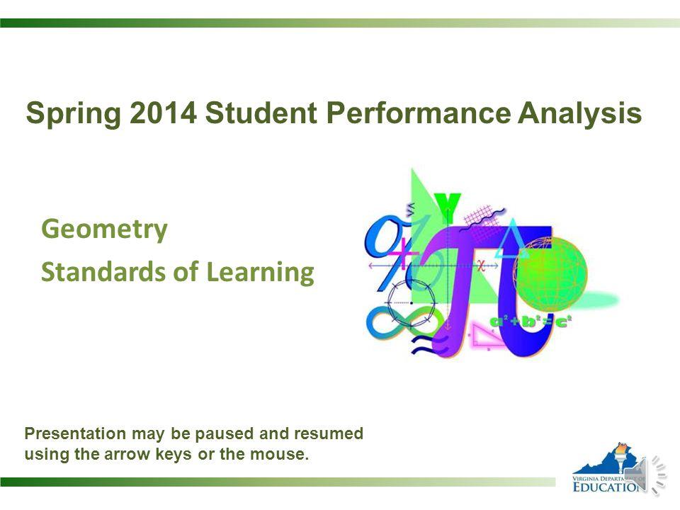 Spring 2014 Student Performance Analysis