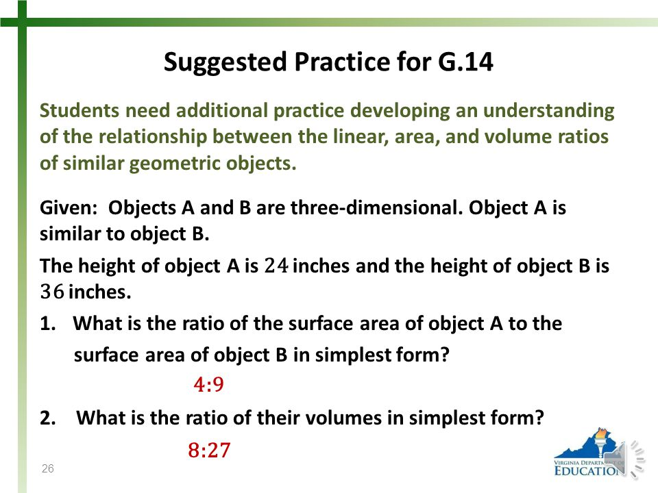 Suggested Practice for G.14