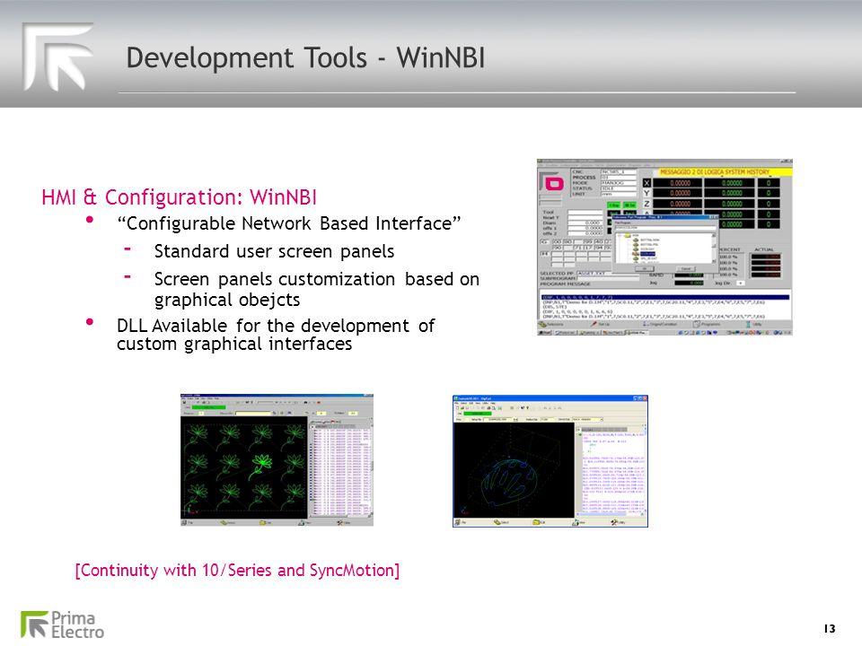 Development Tools - WinNBI