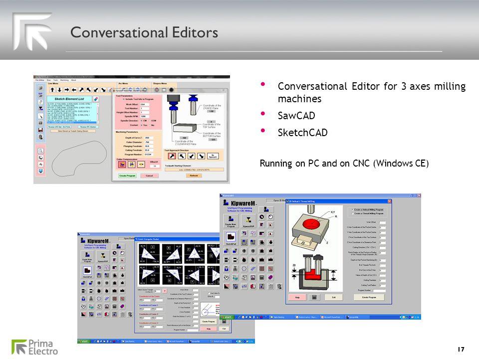 Conversational Editors