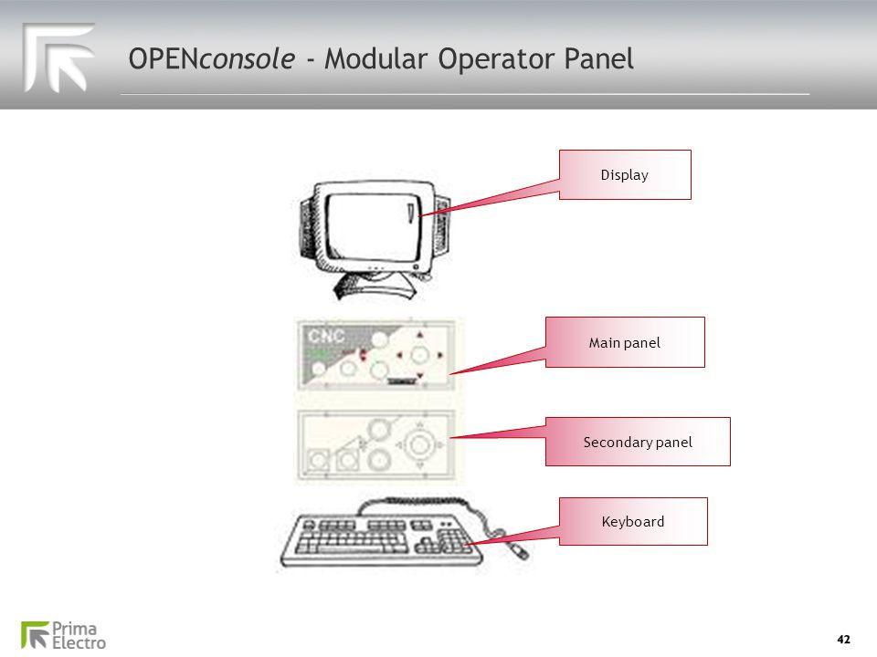 OPENconsole - Modular Operator Panel
