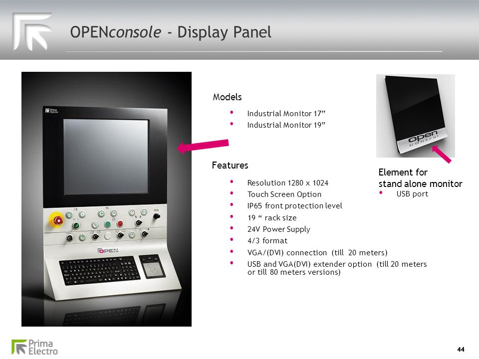 OPENconsole - Display Panel