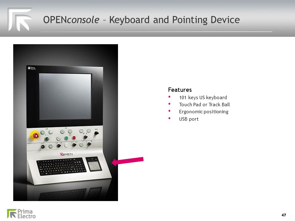 OPENconsole – Keyboard and Pointing Device