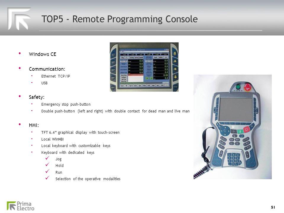 TOP5 - Remote Programming Console