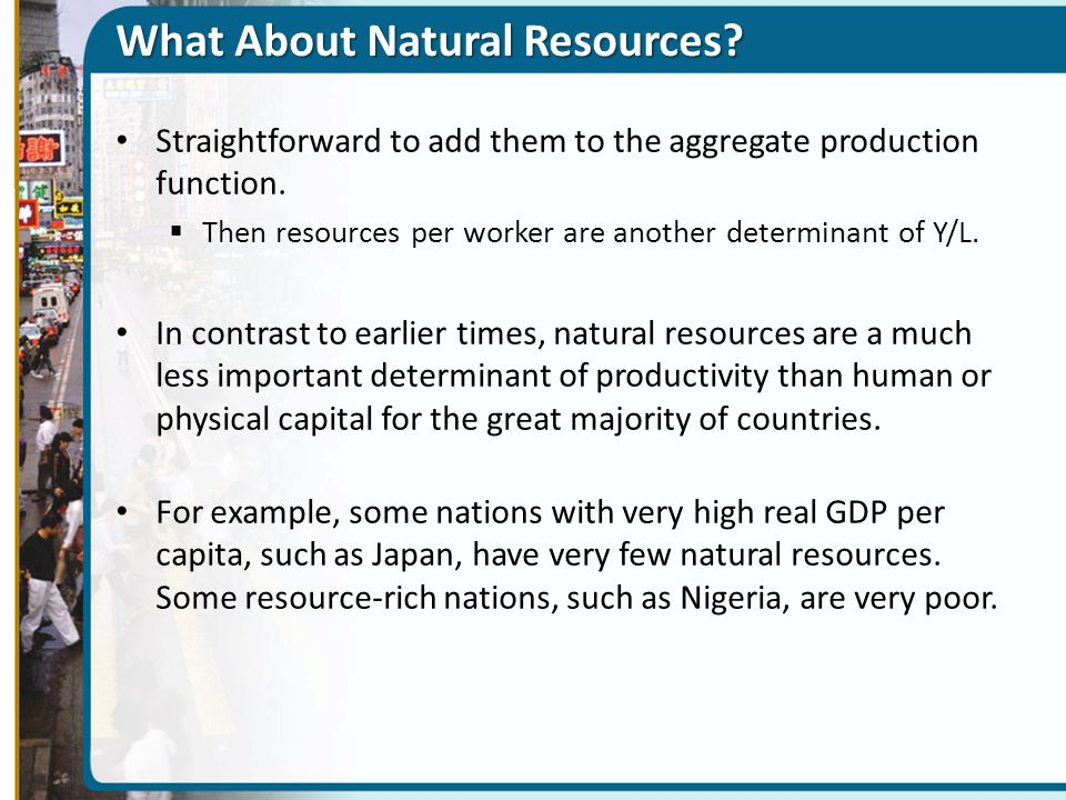What About Natural Resources