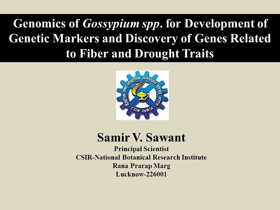 CSIR-National Botanical Research Institute