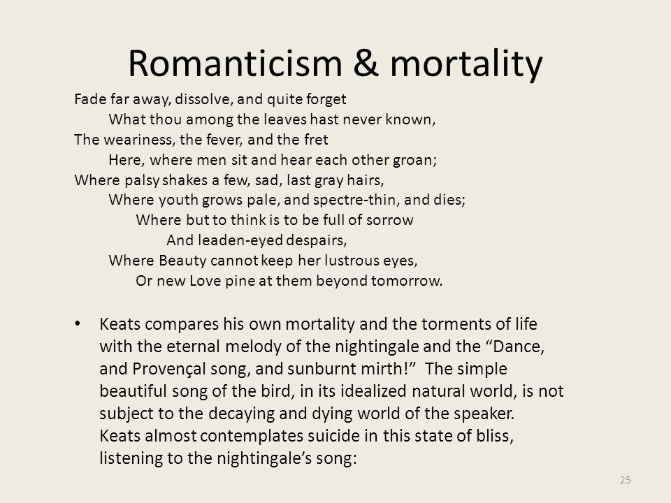 Romanticism & mortality