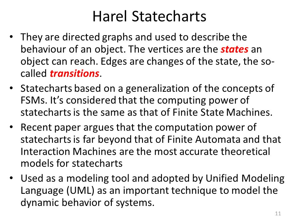 Harel Statecharts