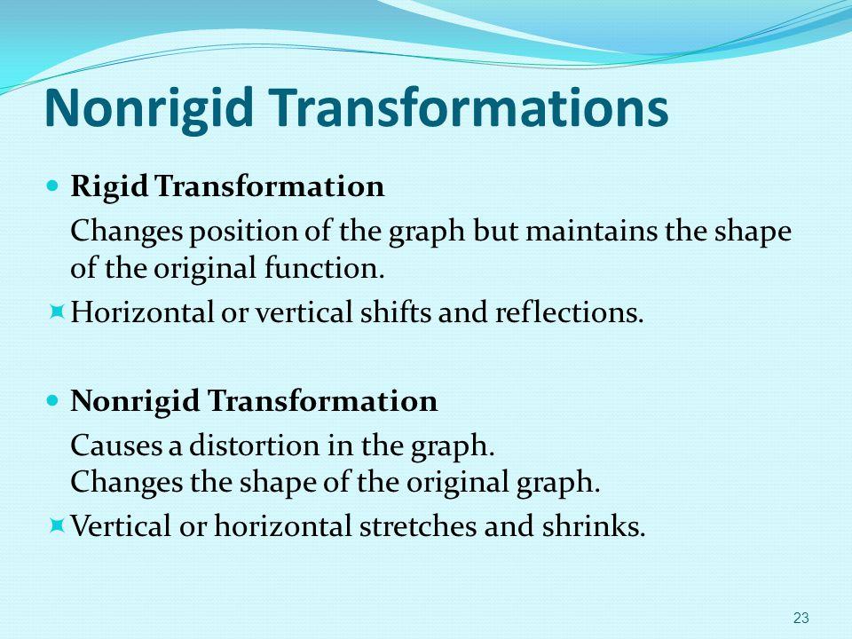 Nonrigid Transformations